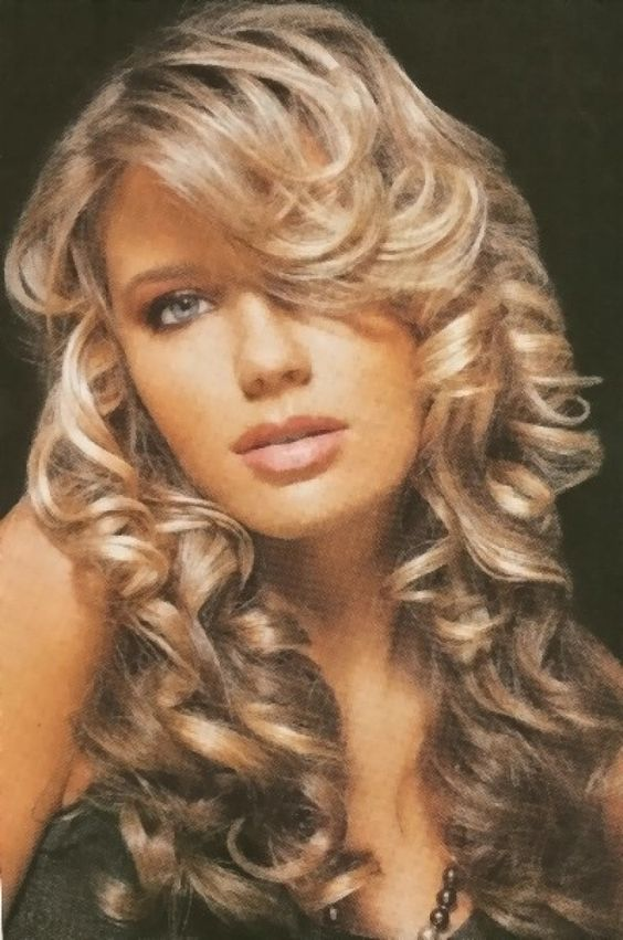 Tremendous Curly Blonde Homecoming Hairstyles And Long Curly On Pinterest Hairstyle Inspiration Daily Dogsangcom