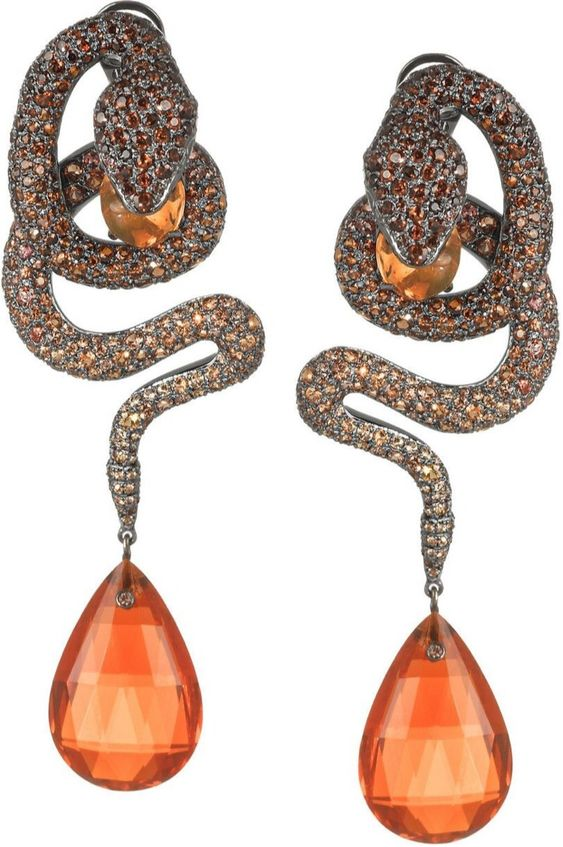 Hautetramp: Lydia Courteille Earrings