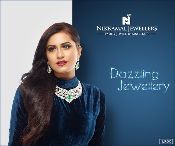 Diamond Jewellery at Nikkamal Jewellers Ludhiana & Jalandhar Showrooms