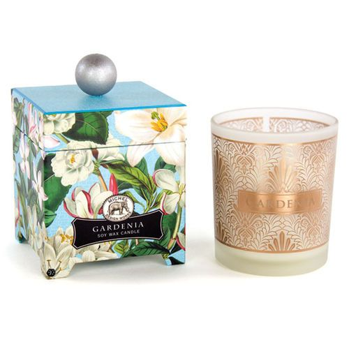 Gardenia Scented Soy Candle