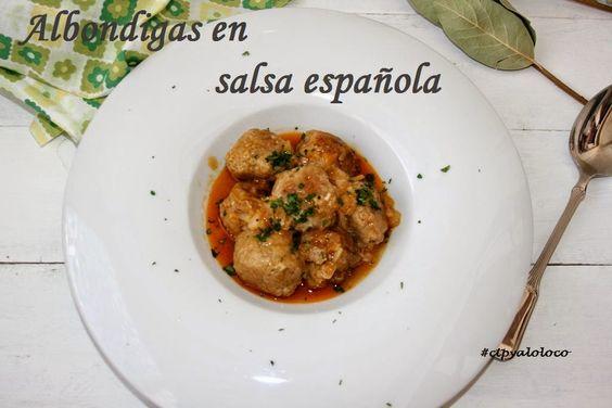 Con Tapas y a lo Loco: Albondigas a la española (Tmx)