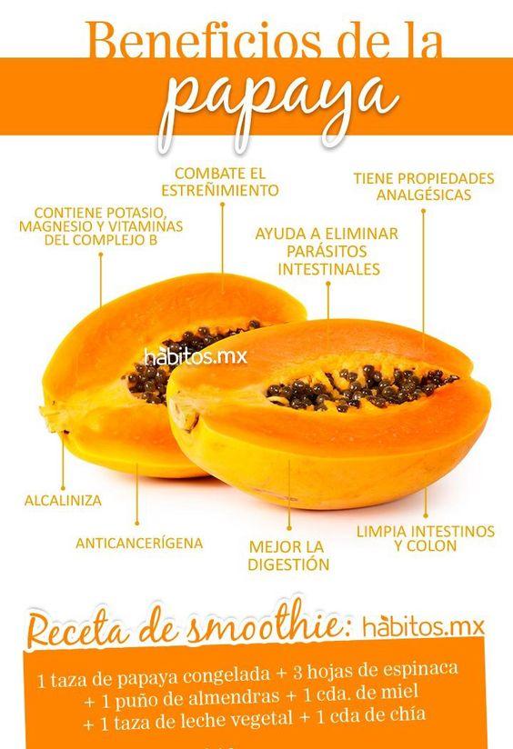 Beneficios de la papaya                                                                                                                                                      Más