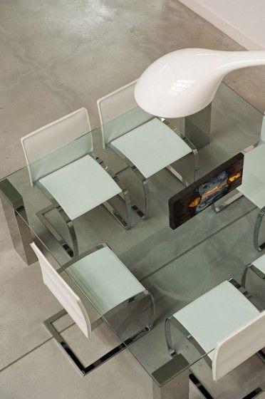 Diseño de juego de comedor moderno