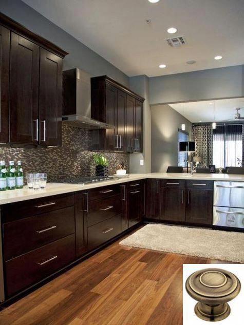 Kitchen Island Designs To Get The Impressive Kitchen Home Decor Ideas Home Depot Kitchen Espresso Kitchen Cabinets Kitchen Cabinets Home Depot