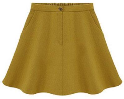 #Oas`ap                   #Skirt                    #Partial #Spandex #Waist #Flounce #Skirt #OASAP.com                           Partial Spandex Waist Flounce Skirt - OASAP.com                               http://www.seapai.com/product.aspx?PID=788060