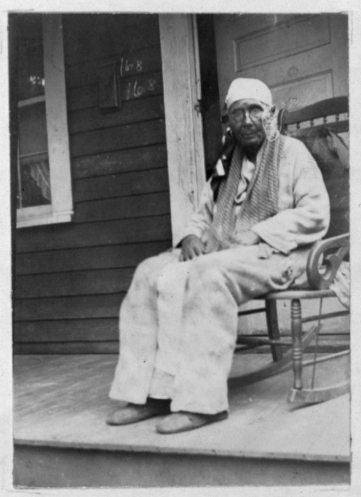 ex-slave in 1930--from a series of portraits at retronaut.
