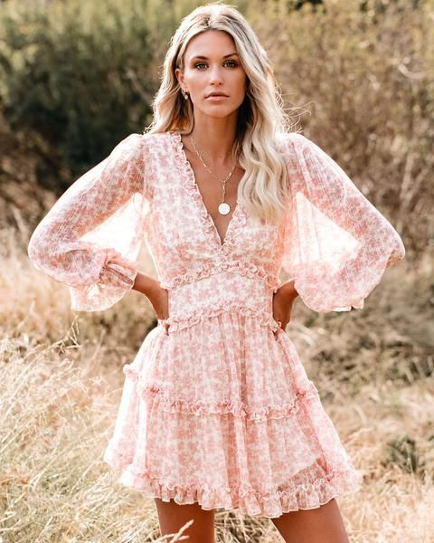 21++ Floral ruffle dress ideas
