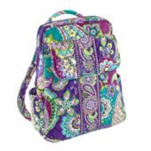 A perfect mini-backpack with a pocket for an ipad....The Vera Backpack in Heather