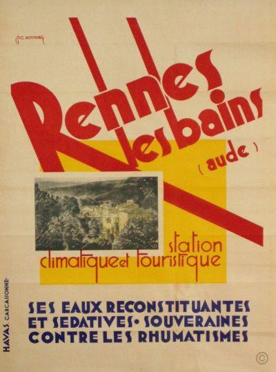 Rennes les Bains - Aude - 1930's - (Mourens) -