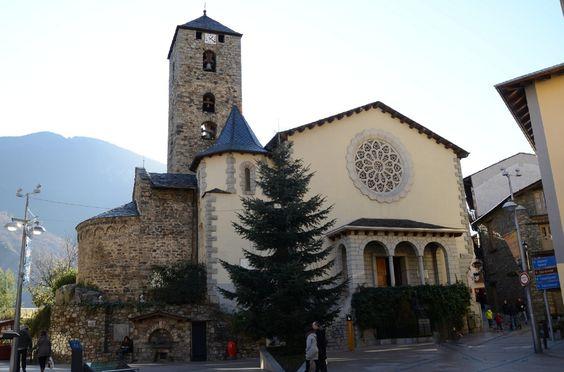 Església de Sant Esteve in Andorra la Vella