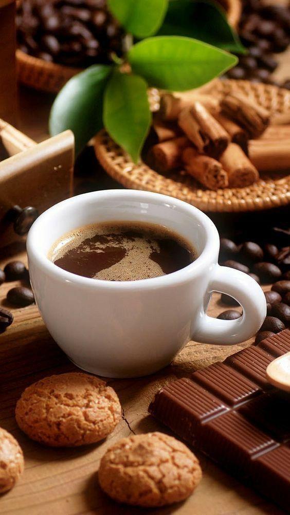 Pin de Guisela Alvarez en AROMA A CAFE... | Imágenes de café, Flores y cafe,  Menú de café