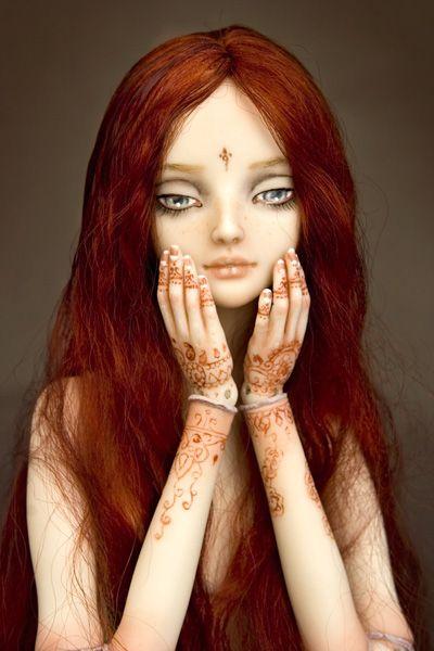 Kia, the water nymph (c)Marina Bychkova #art #beauty #doll