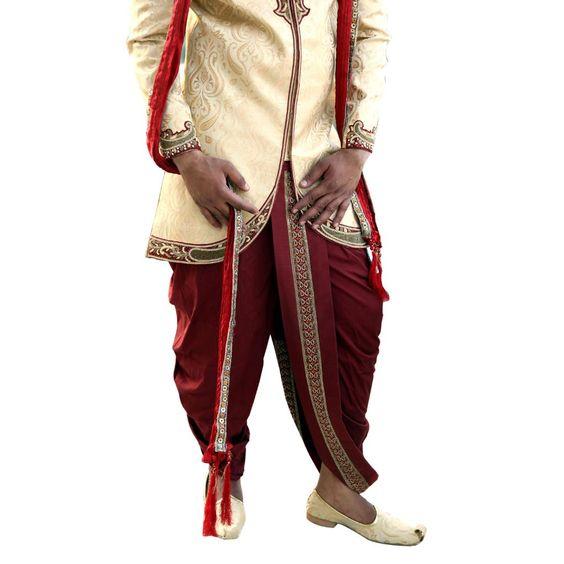 Dhoti | ... Dhoti Sherwani BL2011 Stitched Dhoti Sherwani - Indo-Western Lifestyle
