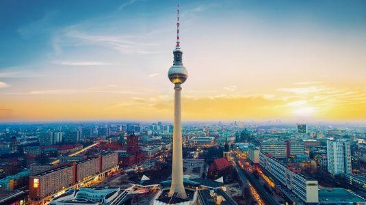 Germany Berlin Tower Full Hd Wallpaper All Hd Wallpapers Bui