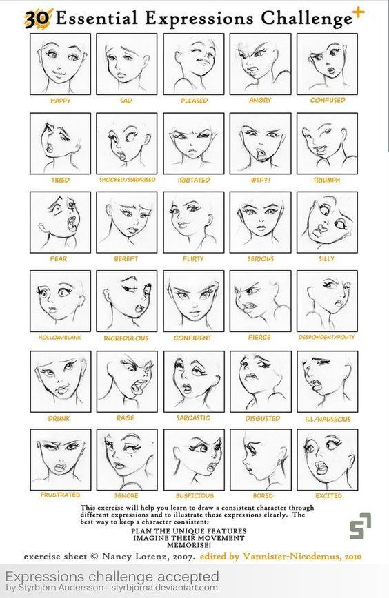 Comment dessiner un manga - DessinLove2013.over-blog.com
