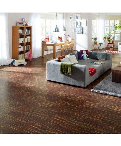 Tolles Raumklima mit #Kork - #Korkboden für nur 46,90€/m² → Haro Corkett Korkboden | Arteo - Stripes - Kork