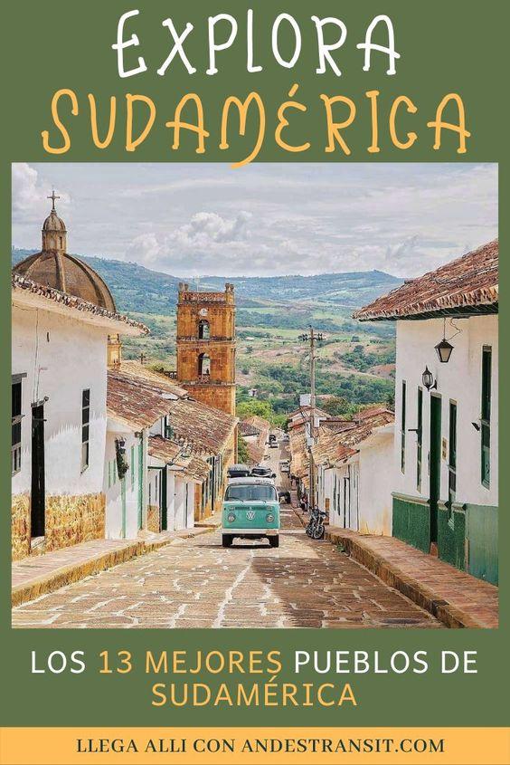 Visita los mejores pueblos pequeños de Sudamérica (Pinterest)