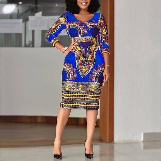 15 robes wax imprimées africaines incontournables pour le printemps 8