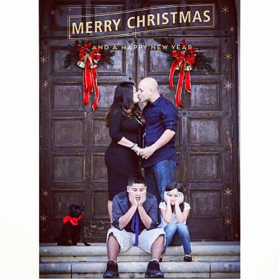 Christmas family pictures