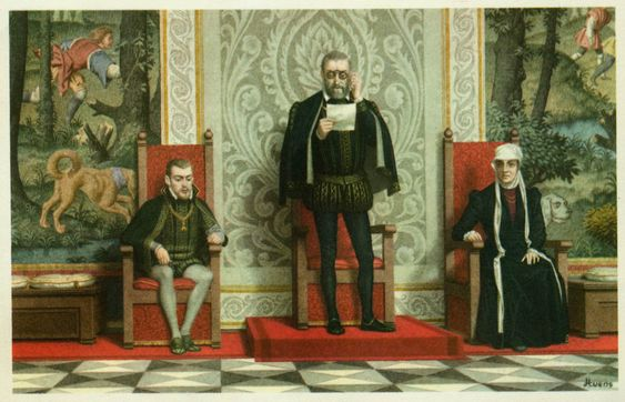 25 octobre 1555 : abdication de Charles Quint