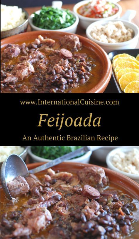 Feijoada Brazilian Black Bean and Pork Stew
