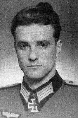 "✠ Konrad Steidl (March 23rd, 1919 - August 5th, 2004) RK 26.01.1944 Hauptmann d.R. Führer I./2. Regiment ""Brandenburg"""