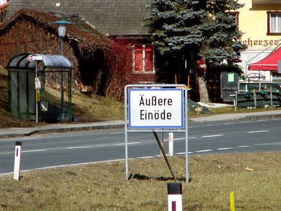 Und Ortsnamen in Österreich: | 26 Fotos, die Dir den Unterschied zwischen Deutschland, Österreich und der...