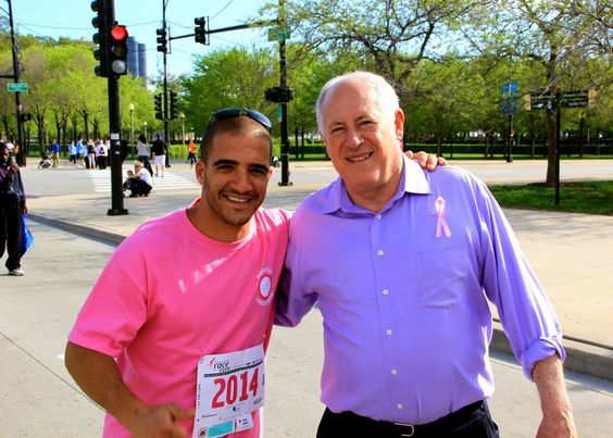 Shimon & Gov. Pat Quinn @ the May Walk for a Cure in Chicago.