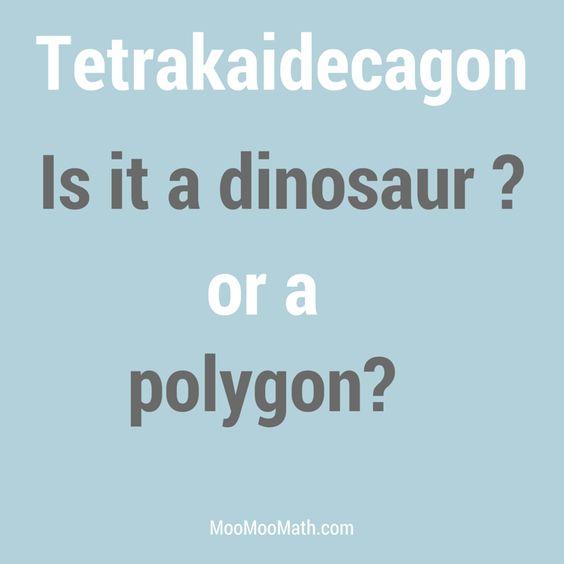 Naming polygons