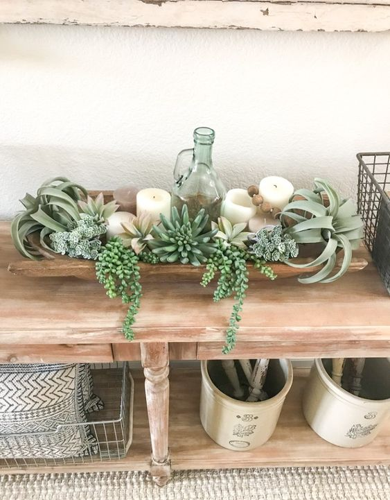 Decorating with Dough Bowls for Spring - Farmhouse Blooms