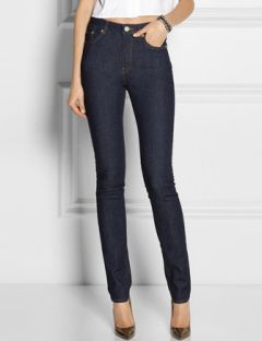 ACNE Pin Raw Reform High Rise Skinny Jeans