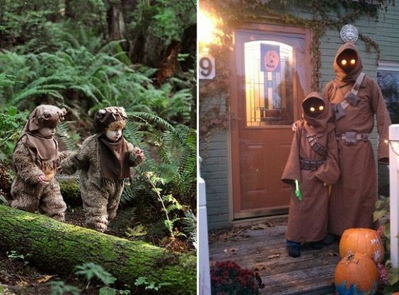 These kids may be the only thing more adorable than actual Ewoks!