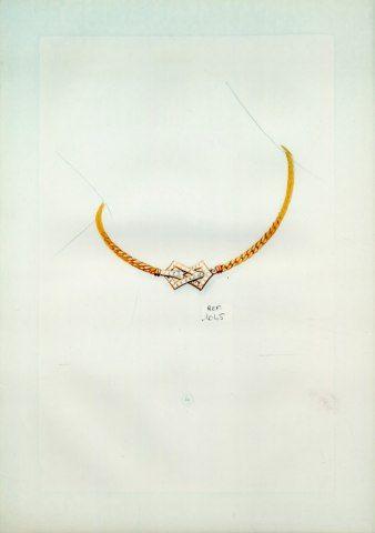 Necklace - (Cartier) Jewels Archive Document
