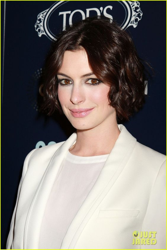 Anne Hathaway & Adam Shulman Suit Each Other at 'Song One' Premiere
