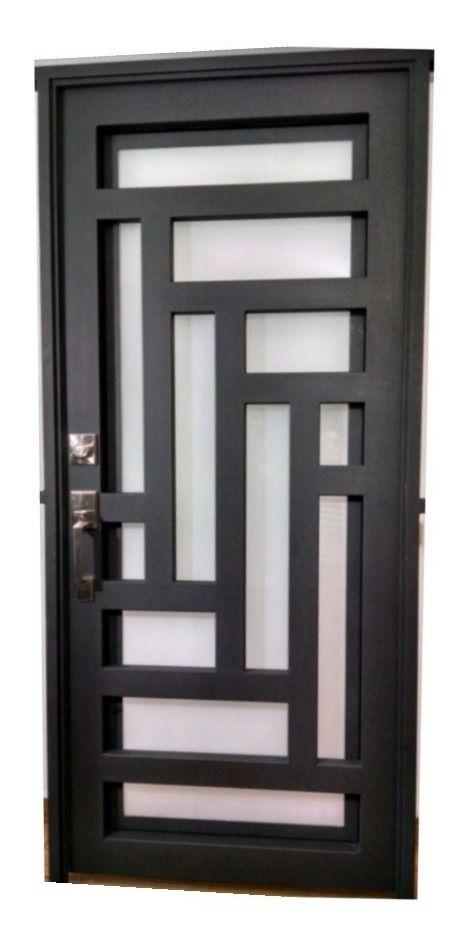 Puerta Principal Forja Contempo Super Remate 7 498 00 En Mercado Libre En 2020 Diseño De Puerta De Hierro Puertas Principales De Forja Diseño De Puertas Modernas