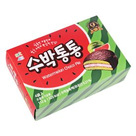 韓国で人気!カルディのスイカチョコパイが妙に癖になる美味しさ♪