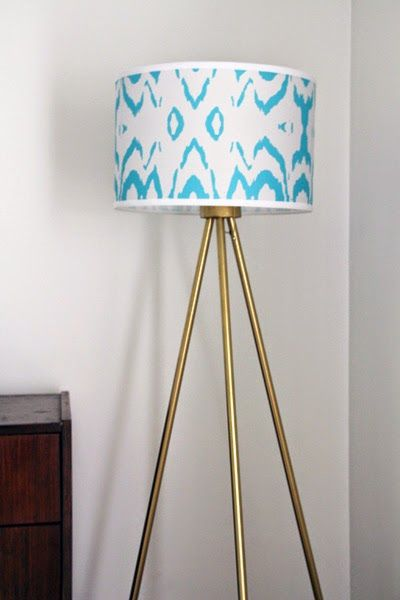 Some Like A Project: DIY Tripod Floor Lamp