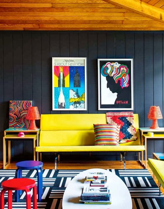 So, if you are redecorating your apartment and want to add unique and highly energized decor, then you should try with the pop art interior design.  Today, we prepared for you a collection of Fabulous Collection Of Pop Art Interior That Will Catch Your Eye.: