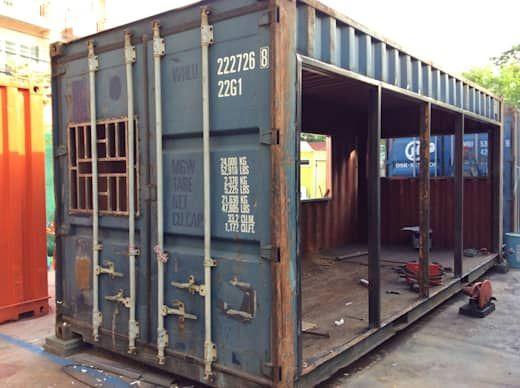 Wir Zeigen Dir Was Man Mit 5000 Aus Einem Alten Seecontainer Machen Kann Alten Aus Shipping Container House Plans Container House Plans Container House