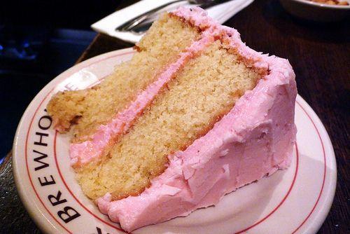 cake, cute, pink, yumm