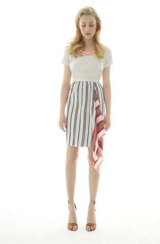 bella drape skirt by lemlem.