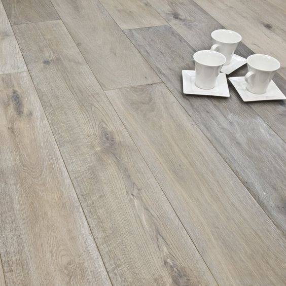 Titanium Series Engineered Flooring 15/4mm x 190mm Oak Smoked Brushed & White Oiled 2.88m2 - from Discount Flooring Depot UK