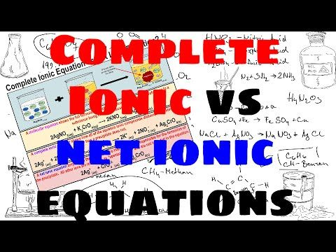 how to find net ionic equation