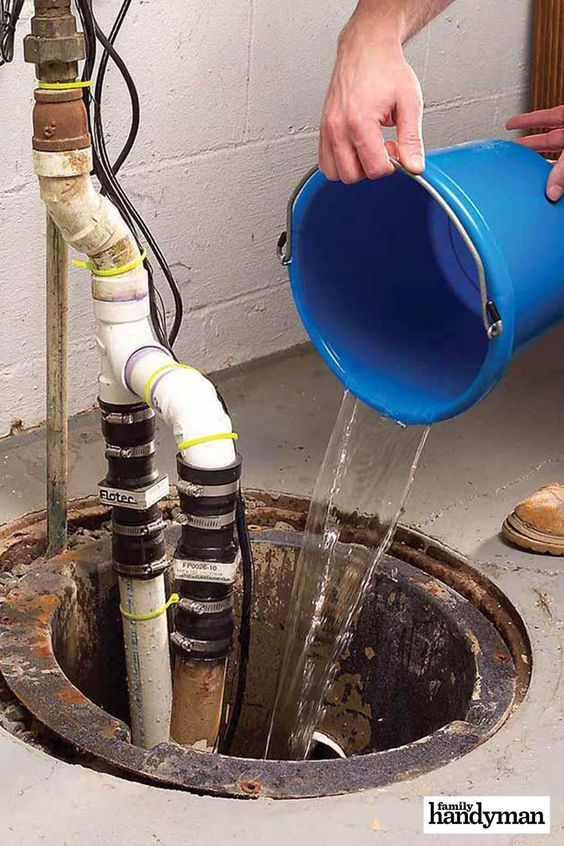 How To Avoid Frozen Sump Pump Pipes This Winter Home Maintenance Diy Home Repair Home Improvement Projects