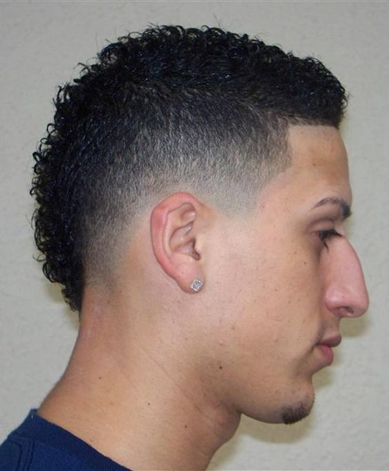 fade mohawk haircut styles my style pinterest taper