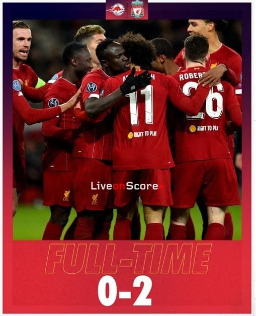 Salzburg 0 2 Liverpool Full Highlight Video Uefa Champions League Uefa Champions League Champions League Liverpool