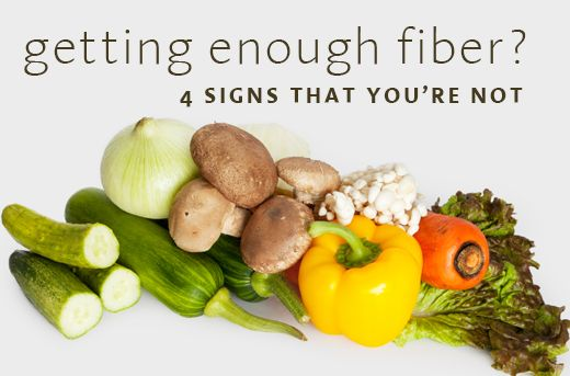 Healing Lifestyles & Spas - 4 Signs You're Not Getting Enough Fiber