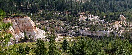 Malakoff Diggins Historic State Park, near Nevada City, Ca - set to close in July.