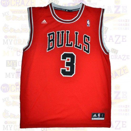 CHICAGO BULLS #3 MCDERMOTT AUTHENTIC NBA ADIDAS JERSEY  #Jersey  #NBA #Adidas #ChicagoBulls #Bulls