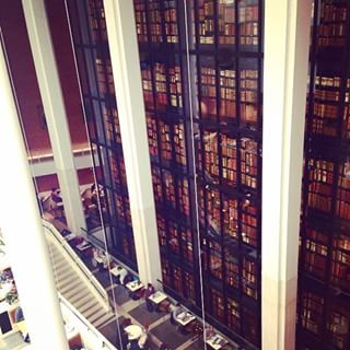 Curl up at the British Library. | 17 Rainy Day Outings To Take In London